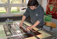 Medientechnologe Siebdruck
